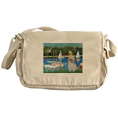 Bassin/Shih Tzu (P) Messenger Bag