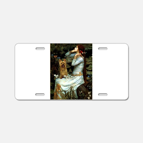 Ophelia / Silky T Aluminum License Plate