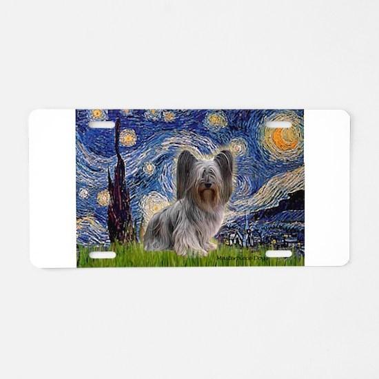 Starry / Skye #2 Aluminum License Plate