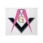 Lady Freemasons Throw Blanket