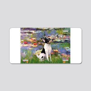 Lilies / Toy Fox T Aluminum License Plate