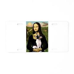 Mona / Toy Fox T Aluminum License Plate