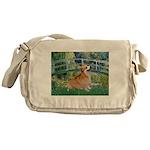 Bridge / Corgi Messenger Bag