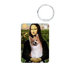 Mona Lisa / Welsh Corgi(p) Keychains