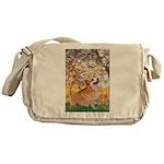 Spring / Corgi Messenger Bag