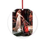 ACCOLADE / Corgi Ornament (Round)