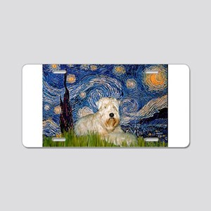 Starry / Wheaten T #1 Aluminum License Plate