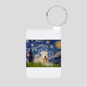 Starry / Wheaten T #1 Aluminum Photo Keychain