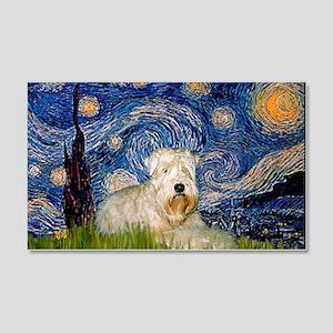 Starry / Wheaten T #1 20x12 Wall Decal