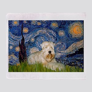 Starry / Wheaten T #1 Throw Blanket