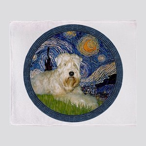 Starry / Wheaten (#1W) Throw Blanket