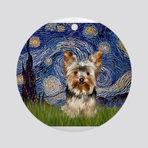 STARRY / Yorkie (17) Ornament (Round)