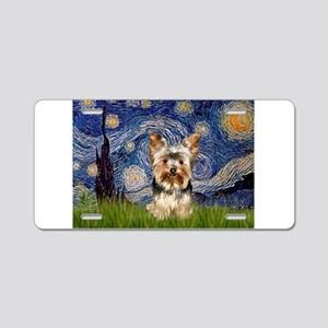 STARRY / Yorkie (17) Aluminum License Plate