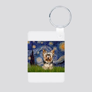 STARRY / Yorkie (17) Aluminum Photo Keychain