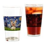 STARRY / Yorkie (17) Drinking Glass