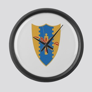 Misc Patches 2 Large Wall Clock