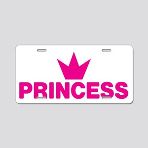 Royal Family Princess Aluminum License Plate