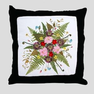 Barbara Carl Throw Pillow