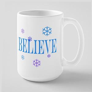 BELIEVE Large Mug