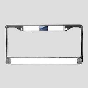 Winter's Run License Plate Frame