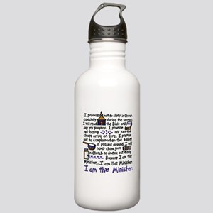 I'm the Minister Stainless Water Bottle 1.0L