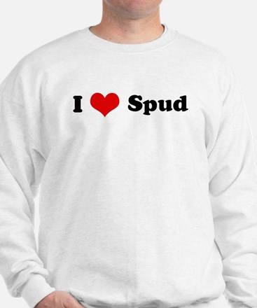 I Love Spud Sweatshirt