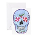 Christmas Skull Greeting Cards (Pk of 10)