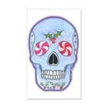 Christmas Skull 38.5 x 24.5 Wall Peel