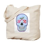 Christmas Skull Tote Bag