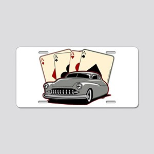 Motor City Lead Sled Aluminum License Plate