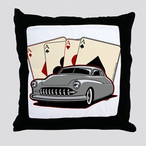 Motor City Lead Sled Throw Pillow