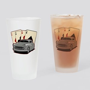 Motor City Lead Sled Drinking Glass