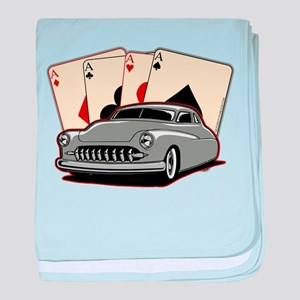 Motor City Lead Sled baby blanket