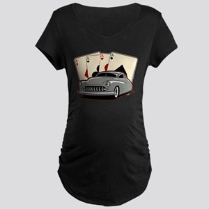 Motor City Lead Sled Maternity Dark T-Shirt