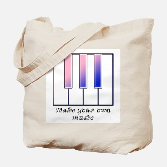Make your own music Tote Bag