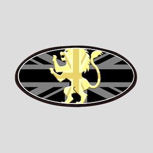 Union Jack Lion Rampant Patches