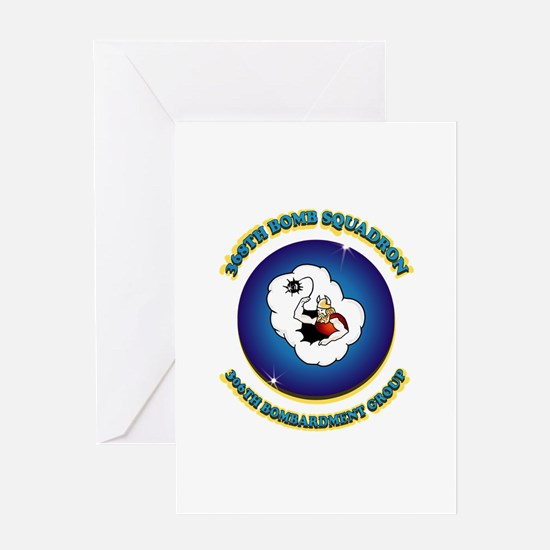 367TH BOMB SQDN. Greeting Card