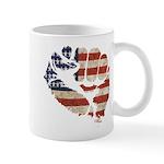 American Flag Fist Mug