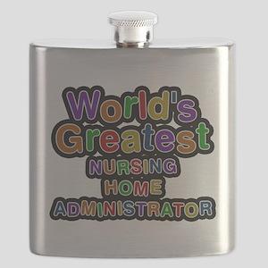 Worlds Greatest NURSING HOME ADMINISTRATOR Flask