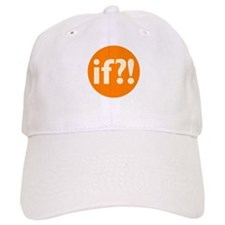 if?! orange/white Cap