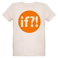 if?! orange/white Organic Kids T-Shirt