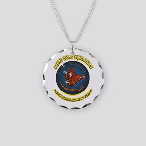 423RD BOMB SQUADRON Necklace Circle Charm