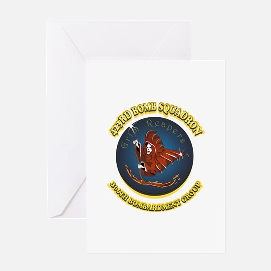 423RD BOMB SQUADRON Greeting Card