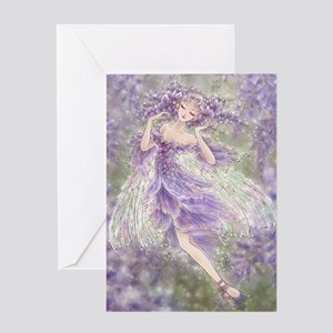 Wisteria Greeting Card