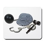Laws and Consequences Mousepad