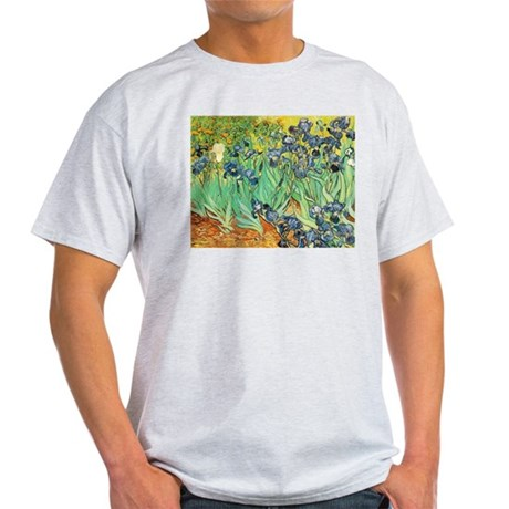 Van Gogh Irises Light T-Shirt