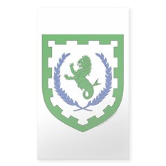 Greenlion Bay Sticker (Rectangle 50 pk)