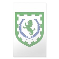 Greenlion Bay Sticker (Rectangle)