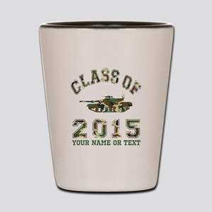 Class Of 2015 Military School Shot Glass