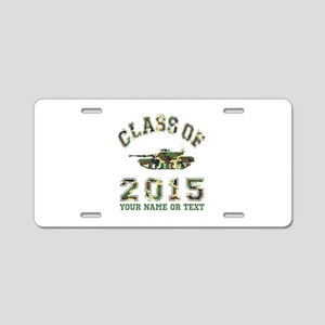 Class Of 2015 Military School Aluminum License Pla